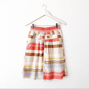 Anthro The Odell's Patchwork Skirt